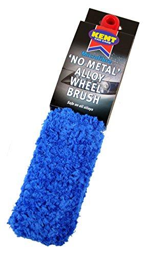 Kent Car Care - Spazzola in Microfibra No Metal per Ruote