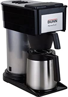 BUNN 10-Cup Thermofresh Home Brewer - 900 W - 10 Cup(s) - Black, Silver - Stainless Steel