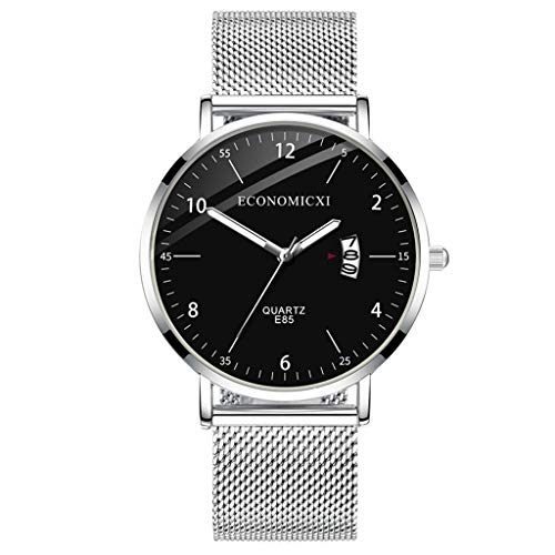 ChallengE Herren Uhren Mode wasserdichte Chronograph Quarz Uhr für Mode einfachen mit leuchtenden kleinen Zifferblatt Herren Quarzuhr