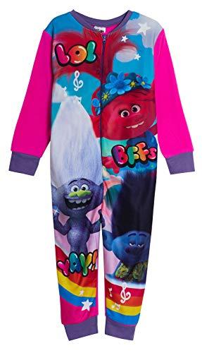 Trolls Pijama de forro polar todo en uno...
