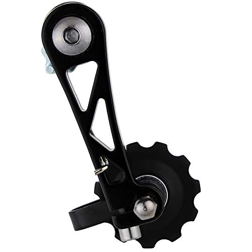 """CyclingDeal Bike Bicycle Fixie Single Speed Aluminum Chain Tensioner - Fit Chain Width 1/8"""""""