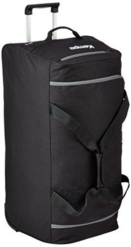 Kempa Tasche Teamline Trolley Travelbag, Schwarz/Anthra, 73 x 35.5 x 39 cm, 120 Liter