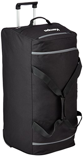 Kempa Tasche Teamline Trolley Travelbag, Schwarz/Anthra, 60 x 33 x 30 cm, 60 Liter