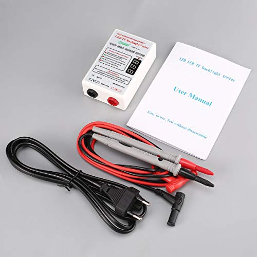 FGHJNXRFJN GJ2C Voltage LED LCD TV Screen Backlight Tester Meter Lamp Strip Bead Light Board Test Repair Tool Output 0~320V EU Plug
