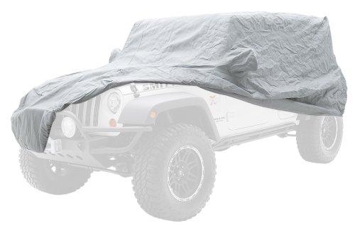 Smittybilt 803 Protective Grey Full Cab Cover for 1976-2006 Jeep Wrangler TJ/YJ/CJ