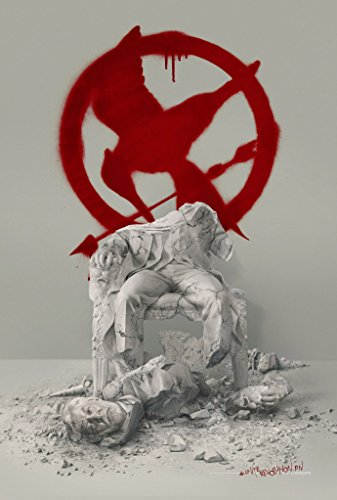 Scott Chorny Hunger Games Mockingjay Part 2 Movie Poster 2 Sided ORIGINAL Version B 27x40 Jennifer Lawrence