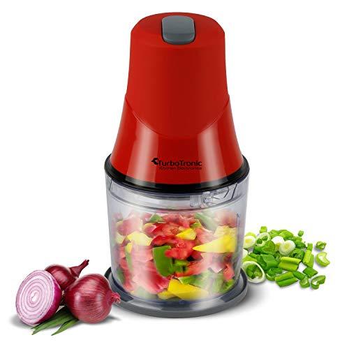 Elektrischer Zerkleinerer, Multi Nuss Hacker, Gemüse Obst Zwiebel Schneider, Mixer, Food Chooper, Ice-Crusher, BPA-FREE, 0,5L