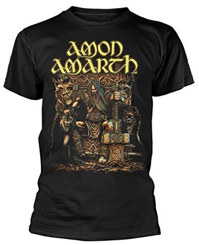 Amon Amarth 'Thor' (Black) T-Shirt (small)
