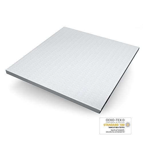 Genius Eazzzy Topper (200 x 220 x 7 cm) als Matratzenauflage für Matratzen & Boxspringbetten Viskoelastischer Matratzentopper für Allergiker (weitere n erhältlich)