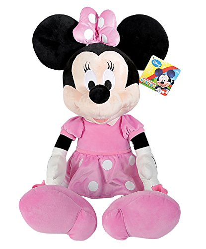 Simba 6315878713 Disney La Casa de Mickey - Peluche de Minnie básico (80 cm)