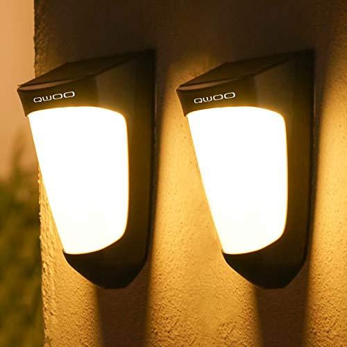 Solar Porch Post Lights qwoo