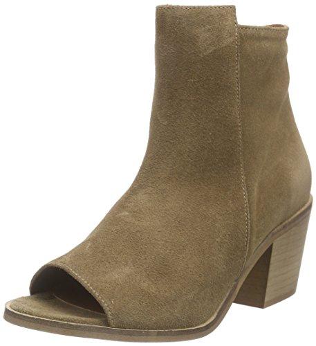 VERO MODA Damen VMISABELLA Leather Boot Cowboy Stiefel, Grün (Kangaroo), 36