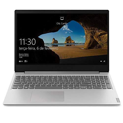 Notebook Lenovo Ultrafino ideapad S145 Ryzen 5 - 12GB 1TB Windows 10 15.6' Dolby Audio Design Leve e Compacto, Prata