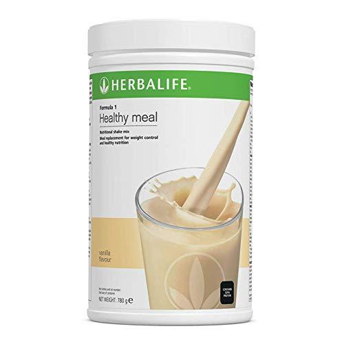 Herbalife Formula 1 Nutritional Shake Mix Vanilla 780 g + 1 Fabric Tape, 1 Shaker, 1 Small Tablet Box and 1 Measuring Spoon - Marco Pecorella Herbalife Member