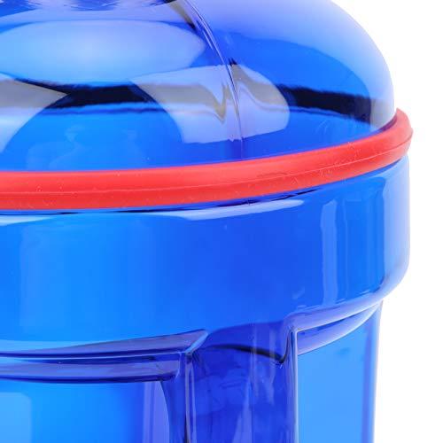 CHICIRIS Botella de agua deportiva, botella de agua conveniente de gran capacidad, larga vida útil para el uso al aire libre del alpinismo
