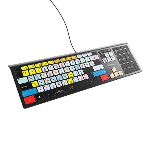 Maxon Cinema 4D Keyboard - Backlit Windows - USA Version