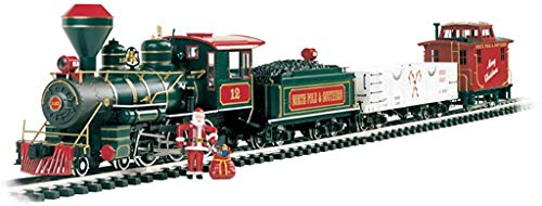 "Bachmann Trains - Night Before Christmas Ready To Run Electric Train Set - Large ""G"" Scale"