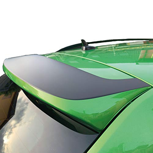 P-031 | Heckspoiler Folie Aufkleber Dekor Racing Rallye Auto 3M (Schwarz Glanz)