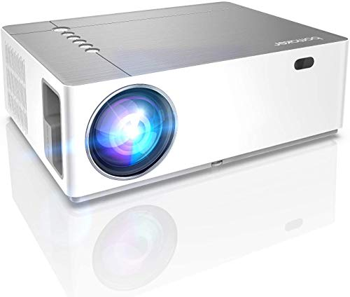 Beamer 7200 Lumen Full HD Native 1080p BOMAKER LED Videoprojektor 300 inch Display Zoom ±50°Elektronische Korrektur Dolby unterstützt mit Dual HDMI USB Anschlüsse für Heimkino&Geschäftspräsentation