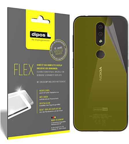 dipos I 3X Pellicola Protettiva per Nokia 4.2 Posteriore Pellicola di Protezione I 3D Full Cover
