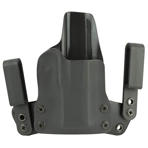 Black Point Tactical Mini Wing IWB Holster, Fits Sig P365, Right Hand, Black Kydex, 15 Degree Cant 1