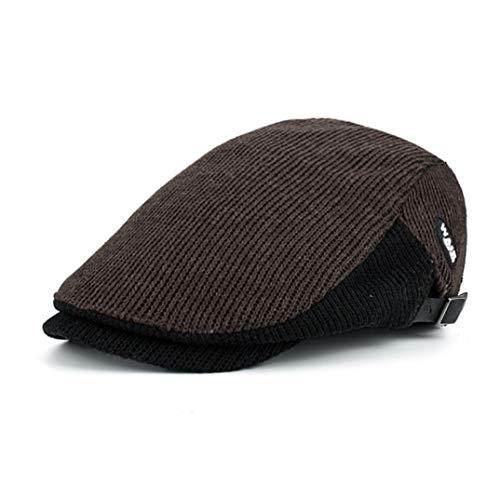 AROVON Hut Winter Baumwolle Baskenmützen Caps für Männer Casual Schirmmützen Baskenmützen Hüte Casquette Cap
