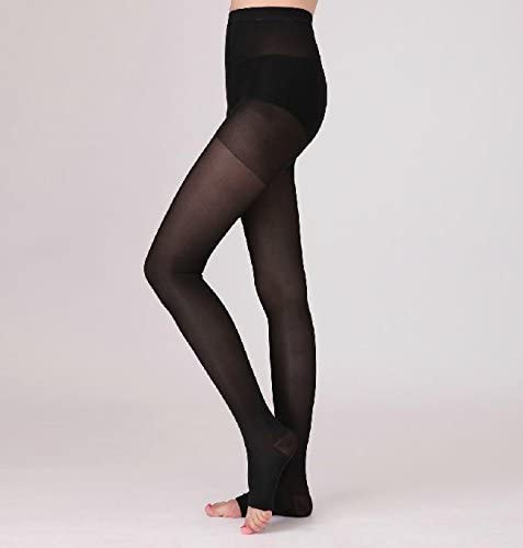 Open Toe Moderate Support BriteLeafs Sheer Compression Pantyhose 15-20mmHg