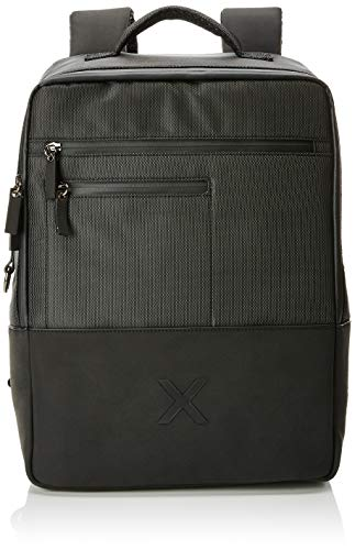 Munich Backpack City Business, Bolsa para portátil para Hombre, Negro (Black) 13x41x31 cm (W x H x L)