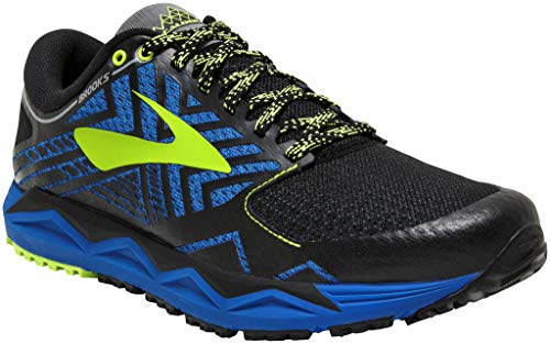 Brooks Caldera 2, Chaussures de Running Homme, Multicolore (Blue/Black/Lime 427), 45 EU