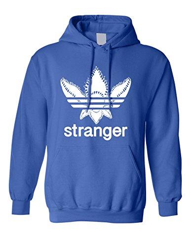 ALLNTRENDS Adult Hoodie Stanger Monster Trending Tops Cool Fans Gift Popular (XL, Royal Blue)