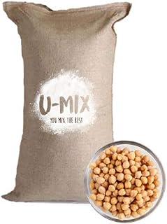 U Mix You Mix, Harina De Garbanzo Sin Gluten U-MIX Costal de 25 KG Premium, 25000 gramos