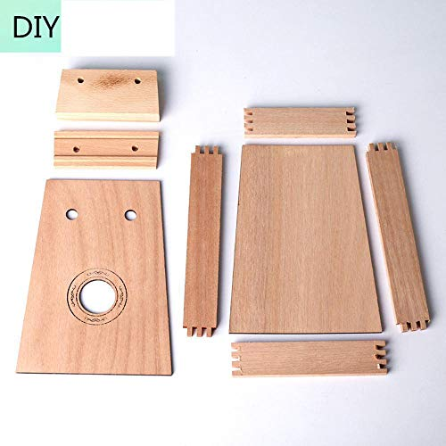 HAIHF Finger Thumb Piano,10-tone DIY thumb/Kalimbavan spelen creatieve handgemaakt/houtbewerking Workshop/diy muziekinstrument/hout/schilderij