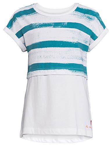 VAUDE T-Shirt Tammar pour Enfant - Unisexe S Blanc