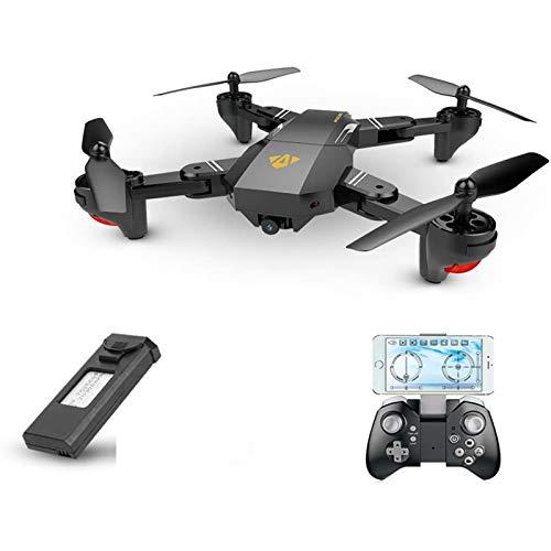 KLJJQAQ Drone with WiFi FPV 720P HD 2MP Camera 120° FOV Wide Angle Foldable Selfie RC Quadcopter