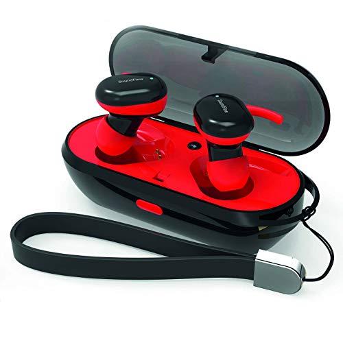 Wee'Plug SOUNDFLOW I15 Red Bluetooth-Kopfhörer für Erwachsene, Unisex, Rot, Einheitsgröße