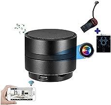 WiFi Bluetooth Speaker Camera | GEAGLE 1080P HD WiFi Hidden Spy Camera | External Memory | Motion Detection | Night Vision | Live Video | P2P/ WiFi