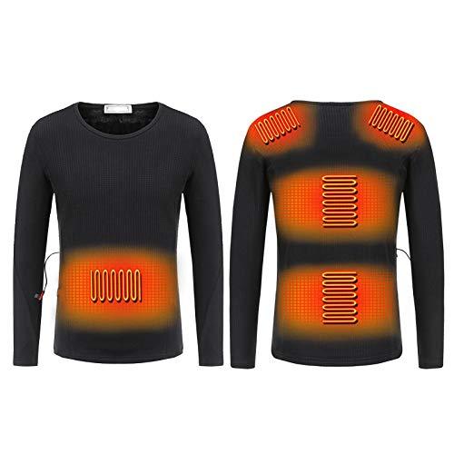 Ropa Interior térmica con calefacción aislada para Hombres y Mujeres, Camisetas térmicas...
