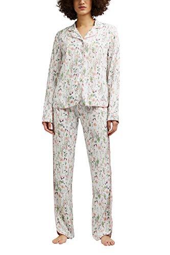 Esprit ARMATHA CAS NW CVE Pyjama Juego de Pijama, 110, 42 para Mujer