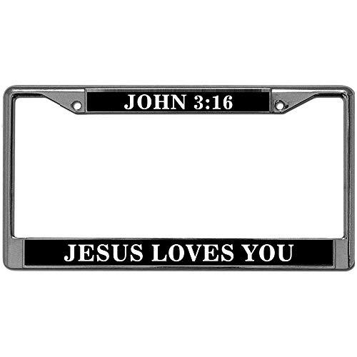 Love Jesus License Plate - 1