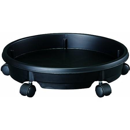 大和プラスチック 鉢皿 キャスタープレート 28型 φ290×H80 ブラック
