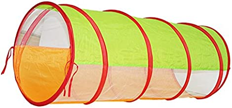 MagiDeal 3.9-ft Kids Play Tent Tunnel Pop-up Crawl Tube Kids Adventure Discovery Toy