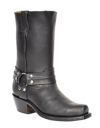 A1 FASHION GOODS Harness Black Grinders Boots, Santiags homme - Noir - Noir , 44 EU