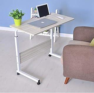 S-PLUS Mobile Laptop Desk Computer Table Stand Adjustable Sit Stand Desk Wooden Bed Bedside Portable Sofa Bedroom Study Of...