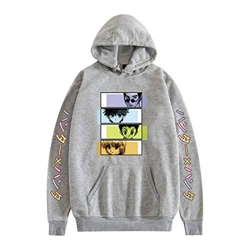 3D Unisex Kids Hunter X Hunter Killua Eyes Hisoka Hoodies for Boys Sweatshirts with Pockets Casual Jumpers Sweater-A_3XL