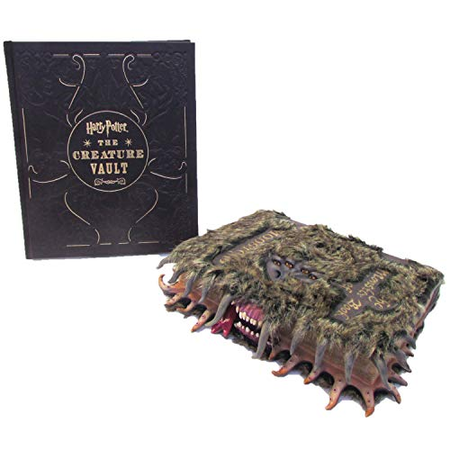 Edición Limitada Harry Potter: El Libro de Monstruos Oficial de película réplica de la Cubierta con el Libro de la bóveda de Criatura por Jody Revenson