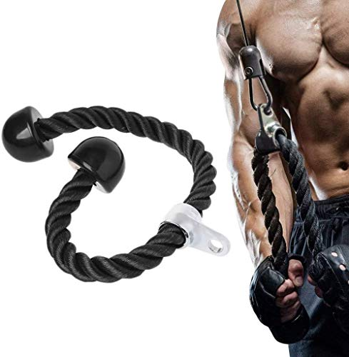 Ytrew Sport - Cuerda para tríceps de alta resistencia (27 cm)