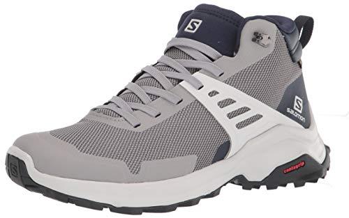 Salomon Calzado Medio X Raise Mid GTX, Stivali da Escursionismo Alti Uomo, Frstgy/LUN, 43 1/3 EU