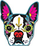 CALI Original Artwork, Pretty in Ink French Bulldog - Enamel Lapel PIN, 1.25'