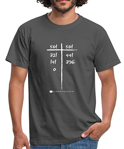 Elmar Paulke Darts 9 Darter Männer T-Shirt, L, Graphite