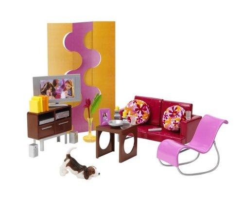 Mattel - Barbie Forever Barbie Welt J0503-0 - Wohnzimmer Spielset